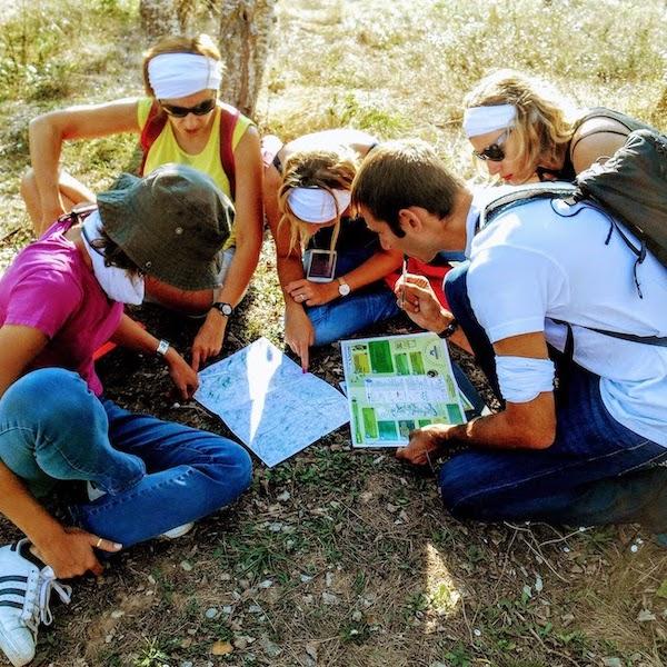 Course d'orientation à Marne-La Vallée pour team building